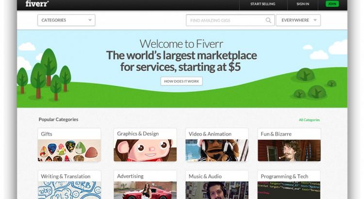 Fiverr Screenshot